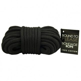 Black Cotton Rope 10 m