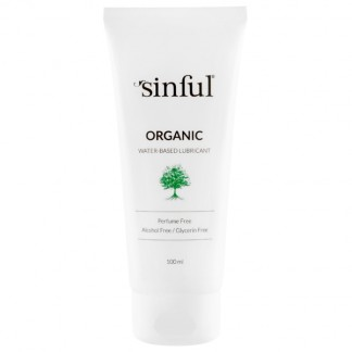 Sinful Organic Water-based Lubricant 100 ml
