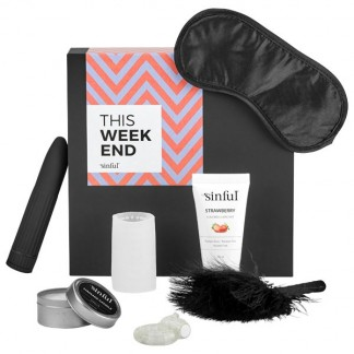 Sinful This Weekend Sex Toy Box with A-Z Guide