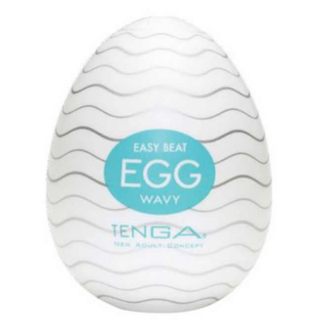 TENGA Egg Wavy Handjob Masturbator for Men