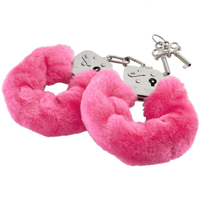 Love To Love Plush Handcuffs