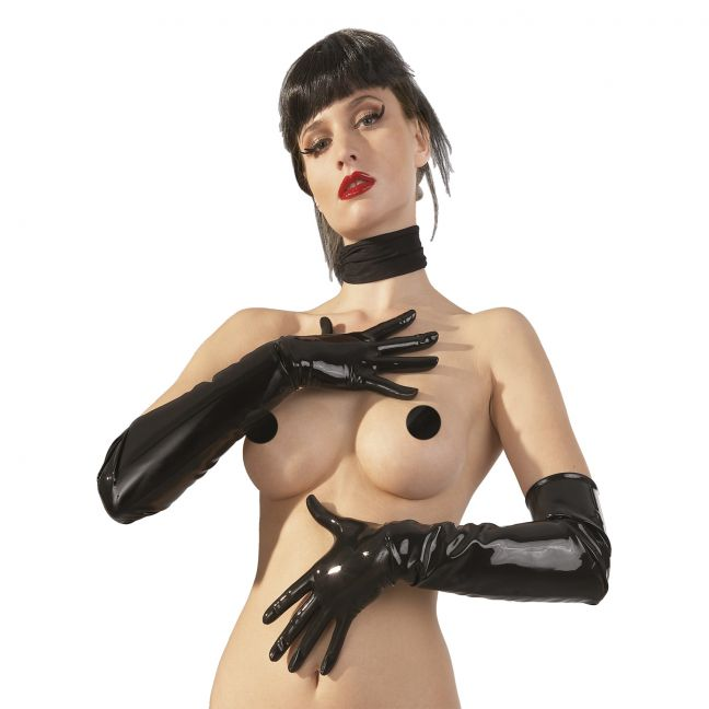 Late X Long Latex Gloves