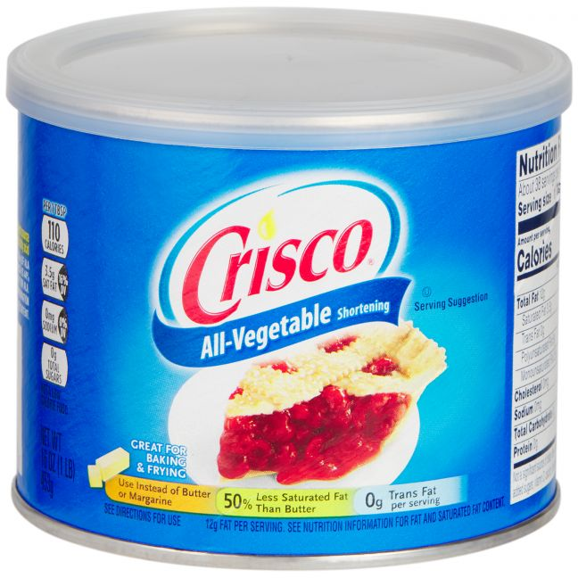 Crisco Oil Based Lubricant 453 g