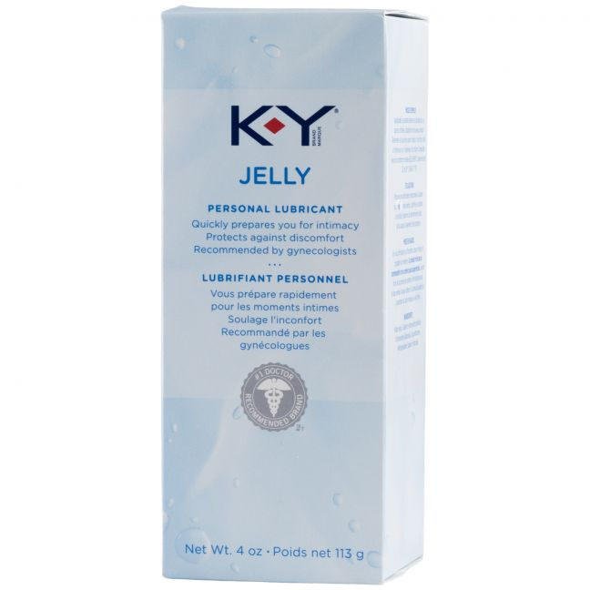 KY Jelly Water Based Lubricant 113 ml