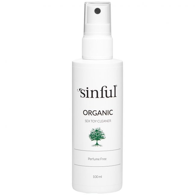 Sinful Organic Sex Toy Cleaner 100 ml
