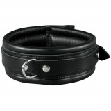 SToys Black Leather Collar