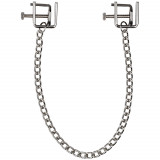 Spartacus Press Nipple Clamps with Chain