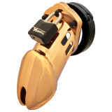 CB-6000 Gold Finish Chastity Device (8.25 cm)