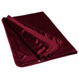 Liberator Fascinator Throw Merlot Luxury Sheet