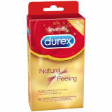 Durex Natural Feeling Latex-free Condoms 10 Pack