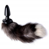 Tailz Grey Fox Tail Butt Plug