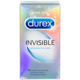 Durex Invisible Extra Thin Condoms 10 pcs