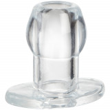 Perfect Fit Tunnel Butt Plug Medium Clear