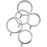 ElectraStim Solid Metal Cock Rings Set of 5