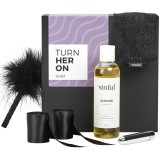 Sinful Turn Her On Sex Toy Box with A–Z Guide