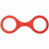 Quickie Cuffs Silicone Handcuffs Medium Red