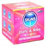 Skins Dot & Rib Condoms 16 Pack