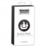 Secura Black Pearl Condoms 12 Pack