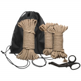 Kink Bind & Tie Initiation Bondage Set 33 m