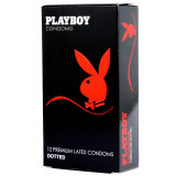 Playboy Dotted Condoms 12 Pack