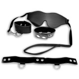 Sex & Mischief Black Bondage Sex Toy Kit