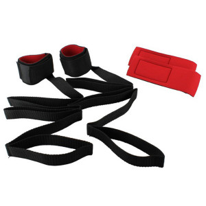 Bondage Set with Velcro Wrist Cuffs