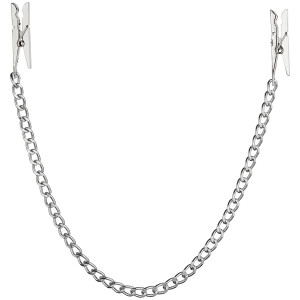 Fetish Fantasy Nipple Clamps with Chain