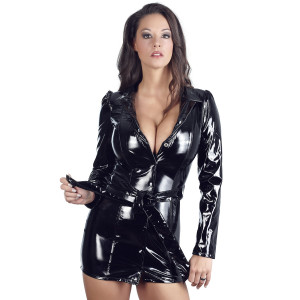 Black Level Coat Dress in Lacquer