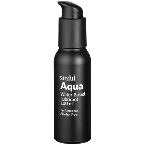 Sinful Aqua Water-based Lube 100 ml