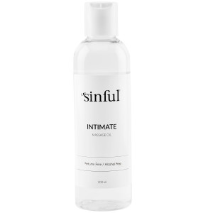 Sinful Intimate Massage Oil 200 ml