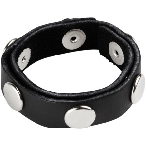 Spartacus 6 Snap Cock Ring with Press Studs