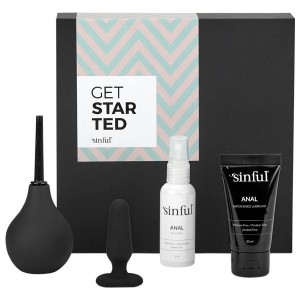 Sinful Get Started Anal Beginner Sex Toy Box with A-Z Guide