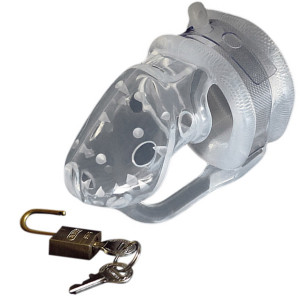 Birdlocked Pico Chastity Device with Spikes for Men
