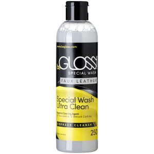 beGLOSS Special Wash for Imitation Leather 250 ml