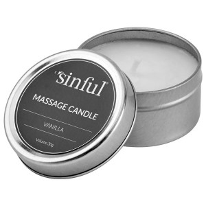Sinful Vanilla Massage Candle 30 g