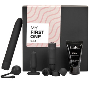 Sinful My First One Beginner Sex Toy Box with A-Z Guide