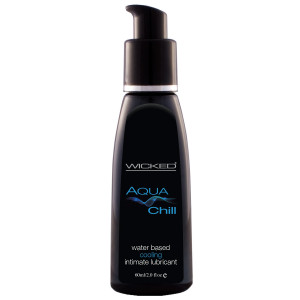 Wicked Aqua Chill Water Based Lubricant 60 ml