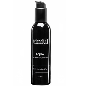 Sinful Aqua Water-based Lubricant 200 ml