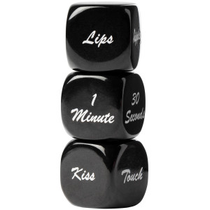 Sinful Erotic Play Dice 3-pack