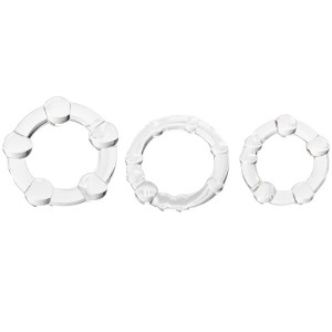 Baseks Triple Fun Cock Ring Set