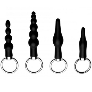 Master Series Ringed Rimmers Butt Plug Set