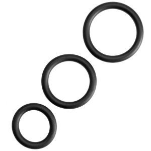 Sinful Cock Ring Set 3 pcs