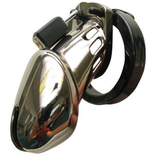 CB-6000 Chrome Chastity Device (8.25 cm)