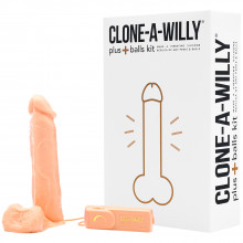 Clone-A-Willy Plus Balls Clone Your Penis  product packaging image 1