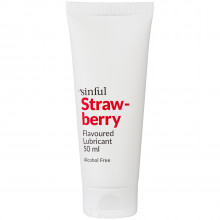 Sinful Strawberry Flavoured Lubricant 50 ml product image 1