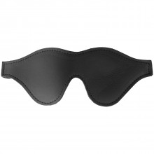 Spartacus Leather Blindfold with Faux Fur product image 1