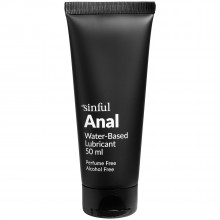 Sinful Anal Lubricant 50 ml product held in hand 1