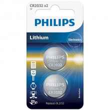 Philips CR2032 Alkaline Batteries Pack of 2 product image 1