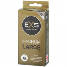 EXS Magnum Large Condoms 12 Pack Packaging picture 1