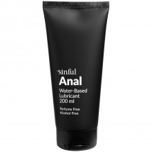 Sinful Anal Water-based Lube 200 ml product image 1